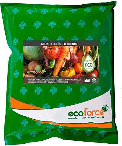 CULTIVERS Abono Ecológico Huerto de 5 Kg. Fertilizante de O