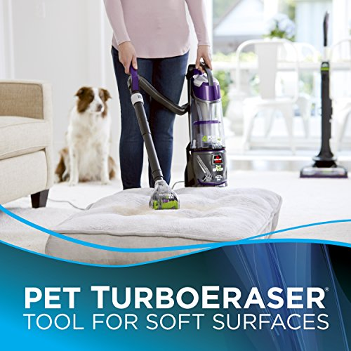 Bissell 20431 Powerglide Lift Off Pet Plus Upright Bagless Vacuum