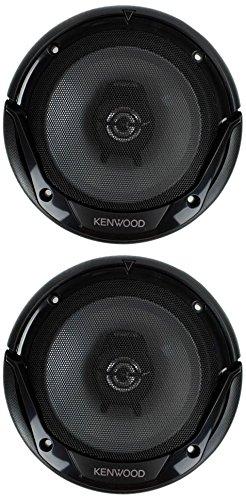 Kenwood KFC-1665S 6.5 Inch 600 Watt 2-Way Car Audio Door Coaxial Speakers