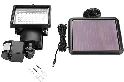 Biuzi Luz del Sensor de Movimiento 1Pc 9V/1.2W Luz del Sensor de Movimiento con energía Solar Luz de Seguridad del jardín al Aire Libre 60 Luz del Sensor Solar LED: Amazon.es: Hogar