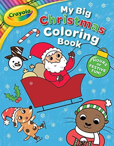 Crayola My Big Christmas Coloring Book (Crayola/BuzzPop)