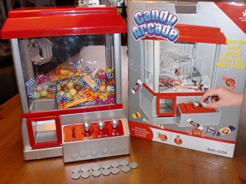 Grabber caramelo de la reproducción tradicional caramelo de mano Arcade Machine