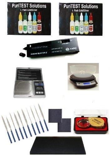 - Super Scrap Jewelry Organizer Kit- Gold Purity Test, Jeweler