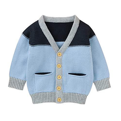 Loveablely Kinder Kinder Sweatshirt Herbst Baby Boy Mädchen Strickjacke Gestrickte Baumwolle Casual Oberbekleidung Kleidung