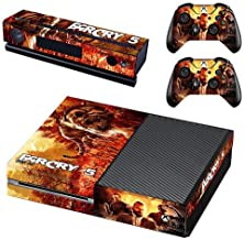 Xbox One Skin Set - Far Cry 5 HD Printing Skin Cover Protective for Xbox One Console, Kinect & 2 Controller by Mr Wonderful Skin