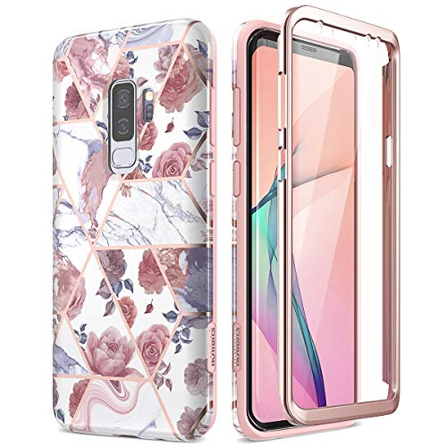 SURITCH for Samsung S9 Plus Case with Built-in Screen Protector Front...