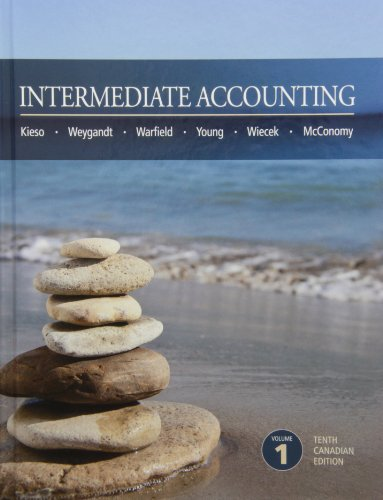 Intermediate Accounting 10th Canadian Edition Volume 1