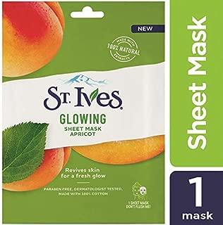 St. Ives Glowing Apricot Sheet Mask