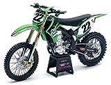 NewRay 57683 'Kawasaki/Twotwo Motorsport KX450F - Chad Reed No. 22' Model Motocross