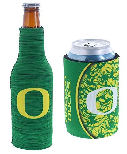 Set of 2 (Oregon) Ducks CAN & Bottle Cooler