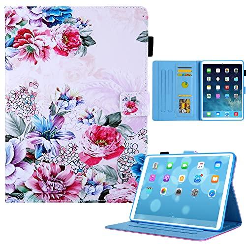 Funda con tapa para iPad Mini 6, suave TPU interior pintado de piel delgada y elegante, función atril, función atril, encendido y apagado automático para iPad Mini 6 2021 (8.3 pulgadas), modelo 2