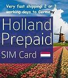 Lycamobile Lyca mobile Prepaid Netherlands Holanda 3 in 1 Sim Card 4G LTE EU Roaming