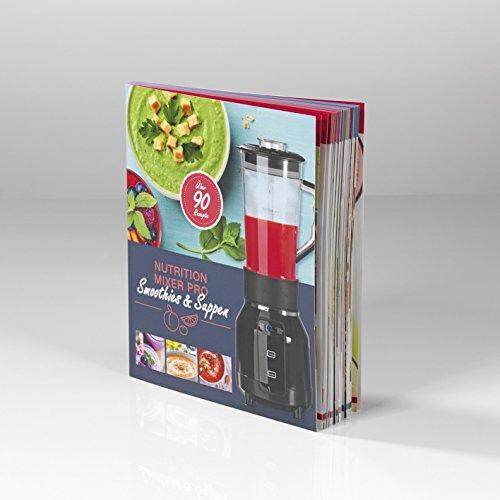 GOURMETmaxx 00055 libro di ricette per Nutrition Mixer Pro, deliziose ricette