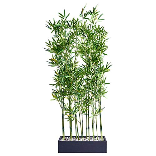 Pureday Raumteiler Kunstpflanze Bambus, Höhe ca. 140 cm