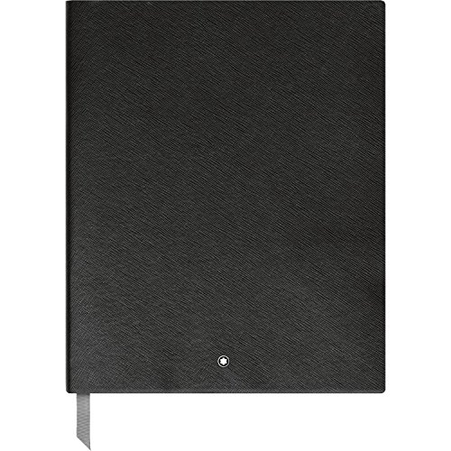 Montblanc 116931 Cuaderno de dibujo Fine Stationery #149 – bloc A4 de líneas, negro