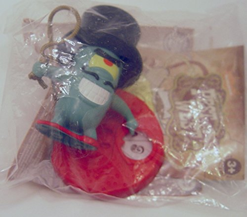 2008 Plankton Top Hat Spongebob Burger King #5 Pest of the West Action Figure