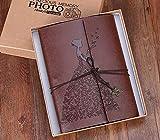 L.HPT Album Photo d'albums en Cuir, mémoire Vintage Livre d'or Scrap Cadeaux d'anniversaire pour...
