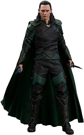 "Hot Toys Marvel Thor: Ragnarok Loki Tom Hiddleston 1/6 Scale 12"" Action Figure"