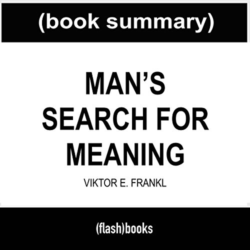 Man's Search for Meaning, by Viktor E. Frankl cover art