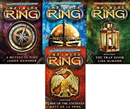 Infinity Ring 4 Book Collection 1-4 (A Mutiny in Time; Divide and Conquer; The Trap Door; Curse of the Ancients)