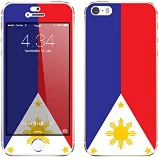 Cellet Philippine Flag Skin for Apple iPhone 5/5S