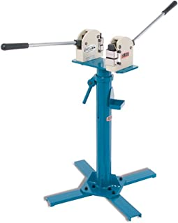 Baileigh MSS-18 Cast Iron Manual Metal Forming Shrinker Stretcher with Stand, 1-1/2