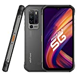 5G Rugged Smartphone, 8GB + 256GB, 5G Network,48MP Four Rear Ai Camera Night Vision Camera,6.1' Screen Android 10, 5200mAh Battery Waterproof Cell phone, NFC Wireless Charging IP68 Ulefone Armor 11 5G