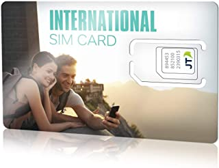 ekit prepaid International SIM card with $5.00 Credit for over 190 countries.