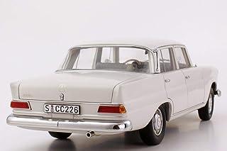 1/18 Mercedes-Benz 200 TailFin WHITE DIECAST MODEL CAR