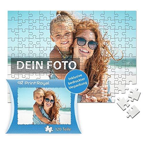 Print Royal Foto-Puzzle 24 - 1000 Teile in inkl. hochwertiger Verpackung - mit eigenem Foto Bedrucken - Puzzle selber gestalten - 120 Teile in Kartonverpackung