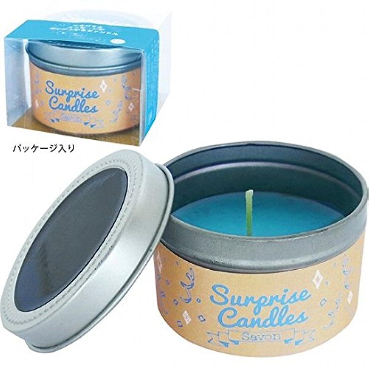 パトロン平らな北へカメヤマキャンドル( kameyama candle ) サプライズキャンドル 「サボン」