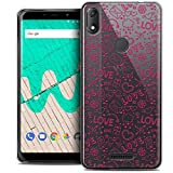 Ultra Slim Case for 6 Inch Wiko View Max, Love Doodle