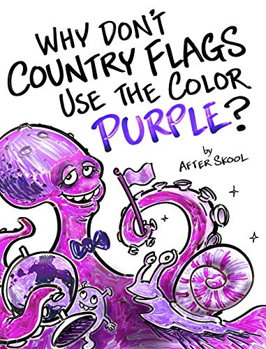 Why Don't Country Flags Use The Color Purple?