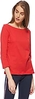 Tommy Hilfiger T-Shirts For Women, M, Red