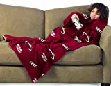 Miami Heat Youth Comfy Throw Blanket with Sleeves
