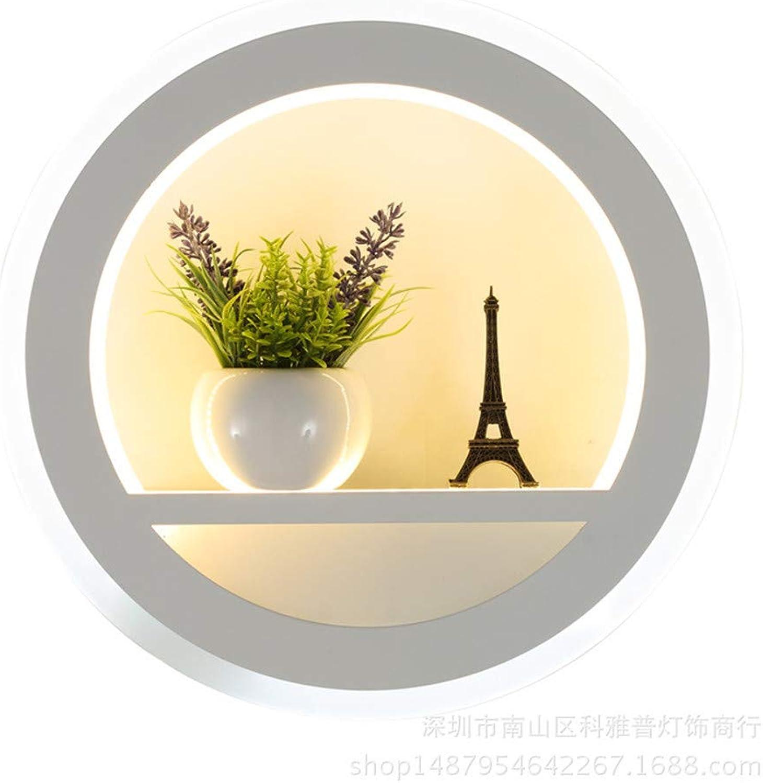 Ymoooooj Moderne Wandleuchte der modernen Wand des LED-Wandlampens dekorative Beleuchtung mit zweifarbiger Wandlampe der Blaume und des Turms