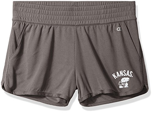 Champion NCAA Damen Endurance Shorts Kansas Jayhawks Large