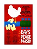 Music Concert Woodstock Peace Dove Love Legend Frame Art