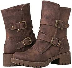 GLOBALWIN Women's 19YY19 Brown Fashion Boots 8.5M