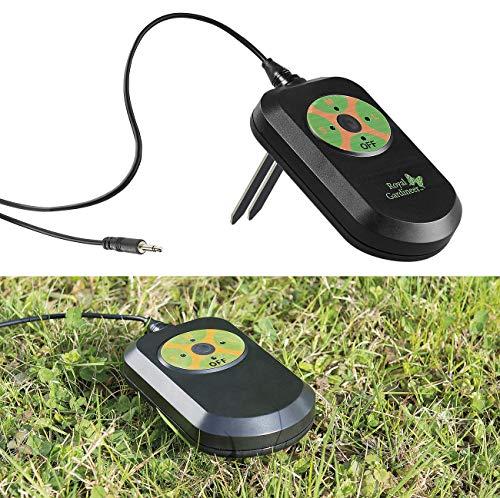 Royal Gardineer Zubehör zu Bewässerungs-Steuergerät: Regensensor & Boden-Feuchtigkeitsmesser für BWC-100, BWC-200, BWC-400 (Multiport-Bewässerungscomputer)