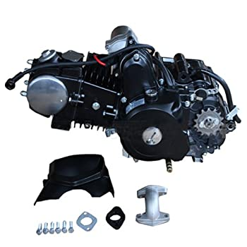 X-PRO 125cc 4-stroke Engine with Automatic Transmission with Reverse Electric Start for 50cc 90cc 110cc 125cc ATVs & Go Karts
