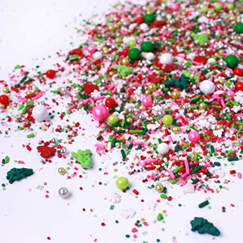 """Who Hash"" Christmas Holiday Sprinkles Mix"