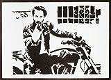 John Wick Poster Keanu Reeves Plakat Handmade Graffiti