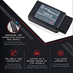 Bafx Products - For Android Only - Wireless Bluetooth Obd2 Scanner Diagnostic Code Reader & Scan Tool - Scan, Reset… 11 NOT COMPATIBLE WITH iOS DEVICES - (iPhones, iPads etc); OUR BLUETOOTH OBD2 scanner IS ONLY COMPATIBLE WITH ANDROID OR WINDOWS DEVICES; For iOS devices, see our WiFi OBD Reader READ & RESET - Our OBD2 diagnostic scanner tool will work on all cars purchased in the USA model year 1996 or newer; Unlike other OBD2 scanners, ours works on ALL OBD2 protocols including J1850 and CAN; With our scan tool you can read & reset the check engine light on your car with ease REAL TIME - Monitor the diagnostic sensors in your vehicle in real time for things like O2 data, fuel pressure, EVAP system & more; Car reporting an EVAP code? Check your O2 readings to see which sensor is faulty and get it fixed; React quickly to problems like a professional mechanic
