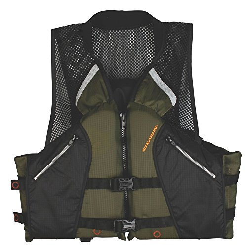 Stearns Comfort Series Collared Angler Vest, X-Large