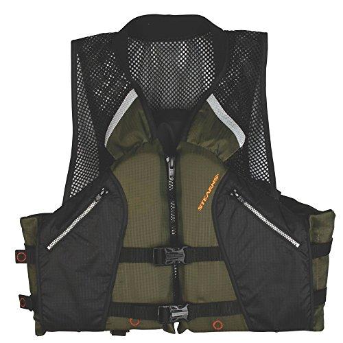 Stearns Comfort Series Collared Angler Vest, Medium