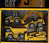 Toystate Caterpillar Construction Mini Machine 4-Pack