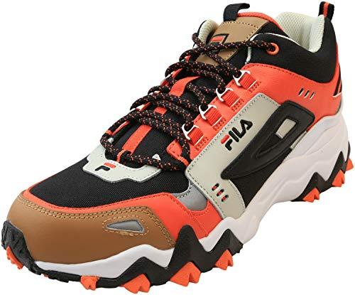 Fila Mens Oakmont TR Mid Lifestyle Casual Athletic Shoes Black 8 Medium (D)