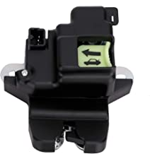 Tailgate Latch Lock Actuator Motor Tail Gate Latch For Hyundai Elantra Coupe with 2.0L 1.8L Engine Years 2011 2012 2013 2014 2015 2016 - Replaces 81230-3X010 - Rear Trunk Lid Latch Assembly