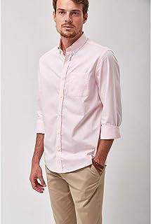 Camisa Chambray - Rosa